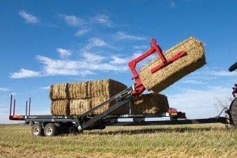 Self-loading Bale Carrier