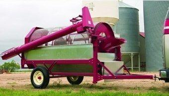 Mobile grain separating machine OZM