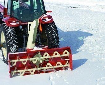 Snegir Snowblower